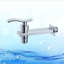 Современные Одной Ручкой Мыть Руки Латунь Настенное Крепление Ванная Кухня Туалет прачечная Раковина Смесители DLCF028
