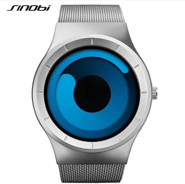 Sinobi reloj de los hombres reloj relojes luminosos de moda único relojes hora reloj de pulsera deportivo de acero lleno relogio masculino reloj hombre