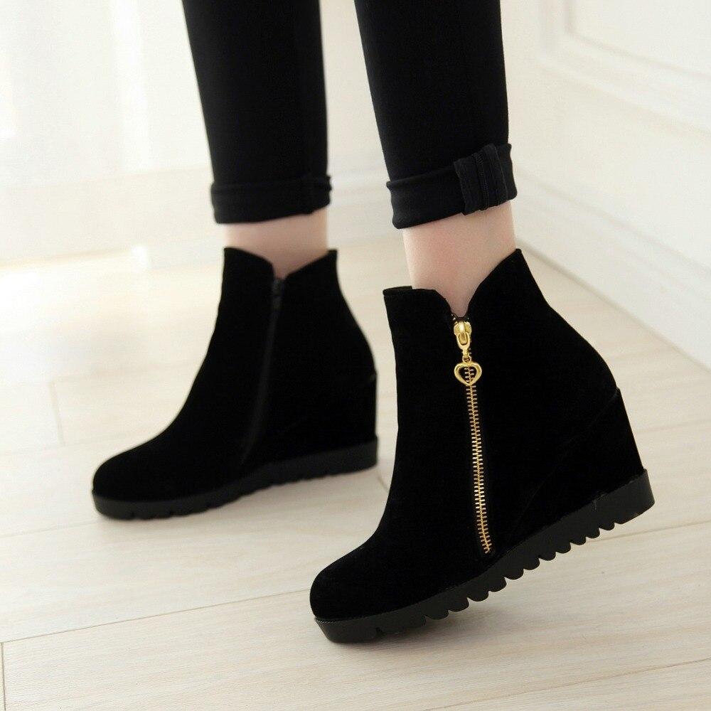 Online Get Cheap Hidden Wedge Boots -Aliexpress.com   Alibaba Group