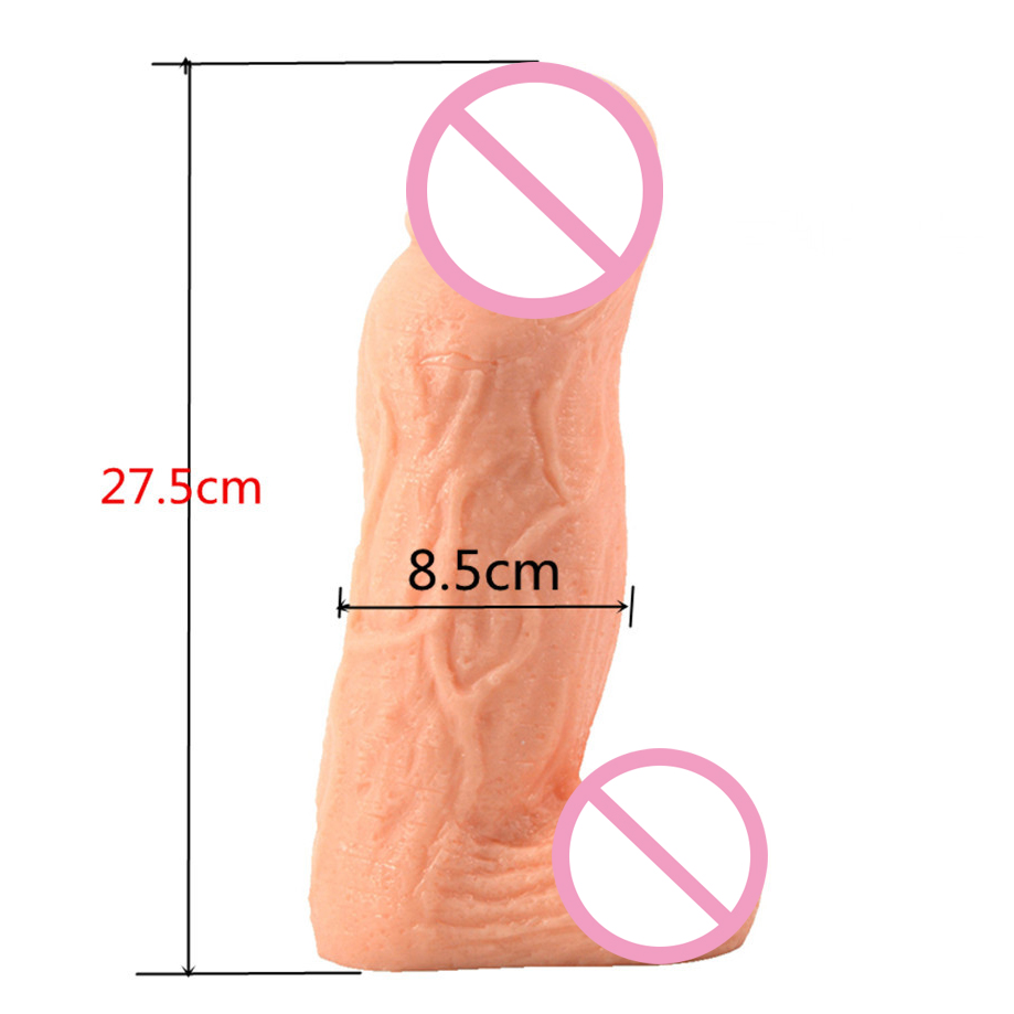 275*80mm huge big size long thick realistic dildo male artificial penis super large fake dick cock giant dildos for women huge big dildo realistic 70mm super large diameter giant dildos for women anal expander male artificial penis fake dick sextoys