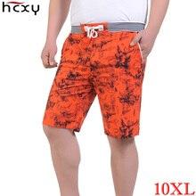 Men Shorts 2017 new fashion Linen Beach shorts Loose Straight Comfortable Men summer shorts Brand Large size 10XL