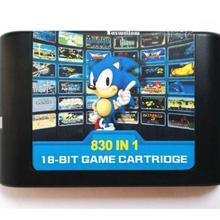 Конечная игра 830 в 1 EDMD Remix картридж для США/Японии/Европы SEGA GENESIS MegaDrive консоли