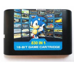 Image 1 - Ostateczny 830 w 1 EDMD Remix kartridż z grą dla amerykańskiej/japońskiej/europejskiej konsoli SEGA GENESIS MegaDrive