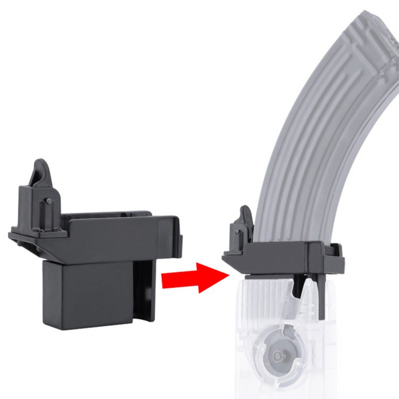 Hunting adapter Tactical M4 BB Speed Loader Converter to Adapt AK G36 MP5  Magazine for Airsoft