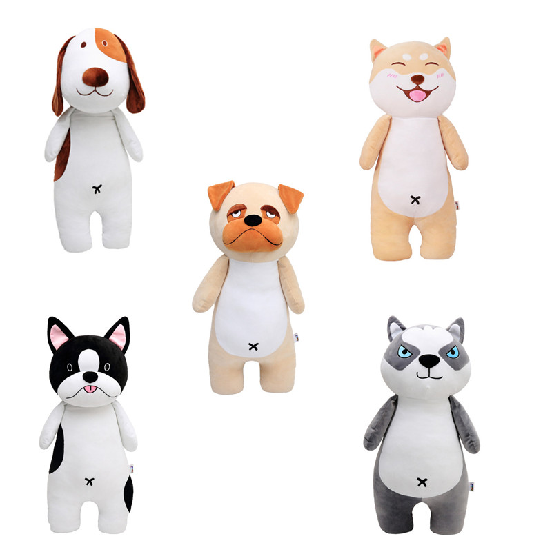 1pc 25cm Cute Husky Dog Plush Toy Staffed Soft Puppy Dog Doll Kawaii Animal Gift for Kids Baby Christmas Gift for Children