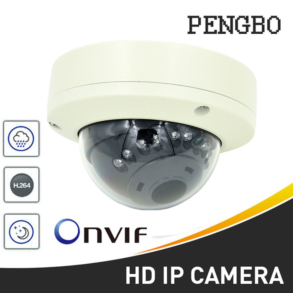 PENGBO HD 1080P IP Camera Indoor Outdoor Dome Cam IR Lens 1MP 2MP 5MP Security Camera Network Cam Support Onvif P2P full hd ip camera 5mp with sound dome camera ip cam cctv home security cameras with audio indoor cameras onvif p2p