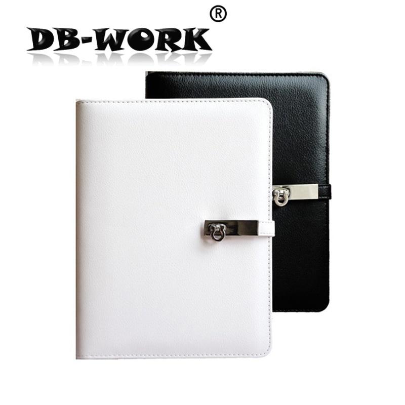 2019 फैशन चमड़ा नोटबुक A5 फैशन धातु बकसुआ ढीला पत्ती नोटबुक कलम बॉक्स के साथ अनुकूलित किया जा सकता है