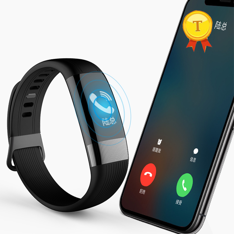 2018 newest android ios smartband wristband smart bracelet support ECG PPG heart rate blood pressure alert