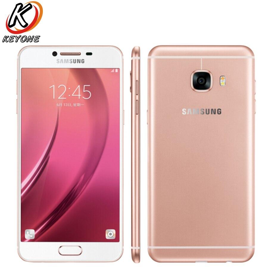 New Original Samsung Galaxy C5 C5000 4G LTE Mobile Phone 5 2 4GB RAM 32GB