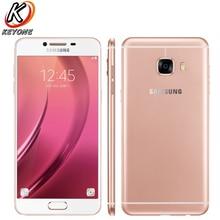"Nueva original samsung galaxy C5 C5000 4G LTE teléfono móvil 5.2 ""4 GB RAM 32 GB ROM octa core 16.0MP 2600 mAh teléfono inteligente Android"