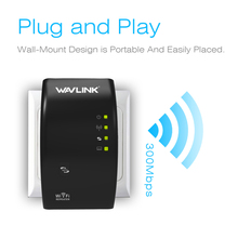 Wavlink N300 Original Wi fi Repeater 300Mbps Mini Wireless N Router Wifi Repeater Long Range Extender Booster UK EU US AU Plug