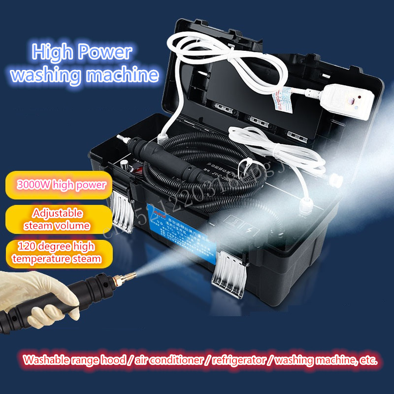 Steam cleaner high temperature and high pressure commercial appliance range hood air conditioner cleaning tool commercial steam cleaner hood cleaning equipment high temperature and high pressure multi function steamer