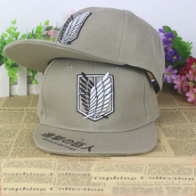 Anime Attack on Titan cotton baseball cap Sun hat cosplay gift Hip-hop 2015 NEW