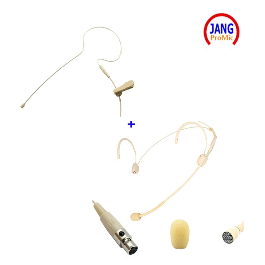 Professional 2 pics Microfon microfon pentru căști Microfon Earclip - Audio și video portabile