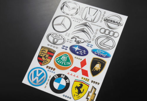 Rc Body Universal Logo Stickers Decals For 1 10 Scale On Road Car