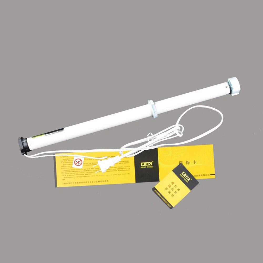 Bricolage électrique rouleau aveugle AC 100-240 V électrique rouleau ombre moteur aveugle tubulaire moteur Kit télécommande