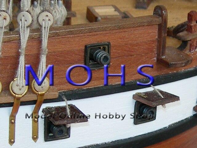 Kit de ensamblaje de escala de barco de vela de escala clásica de madera de escala de barco de 1/90 constelación de acorazado-in Kits de construcción de maquetas from Juguetes y pasatiempos    3
