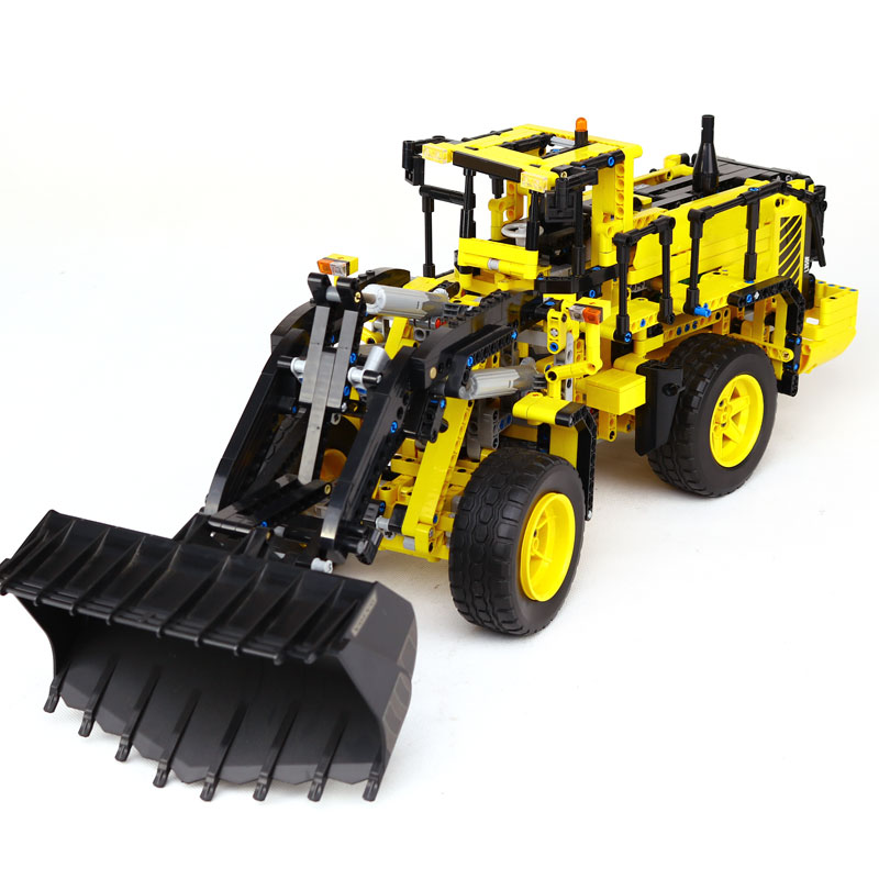 NEW LEPIN 20006 Technic series Volvo L350F wheel loader Model Building blocks Bricks Compatible LegoING 42030 boy gift car Toys lepin 20006 technic series volvo l350f wheel loader model building kit blocks bricks compatible with toy 42030
