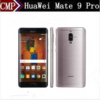 """Оригинальный HuaWei Коврики 9 Pro 4G LTE Мобильного Телефона Kirin 960 Android 7,0 5,5 """"2 К 2560X1440 6 ГБ Оперативная память 128 ГБ Встроенная память 20.0MP сканер отпечатков пальцев NFC"""
