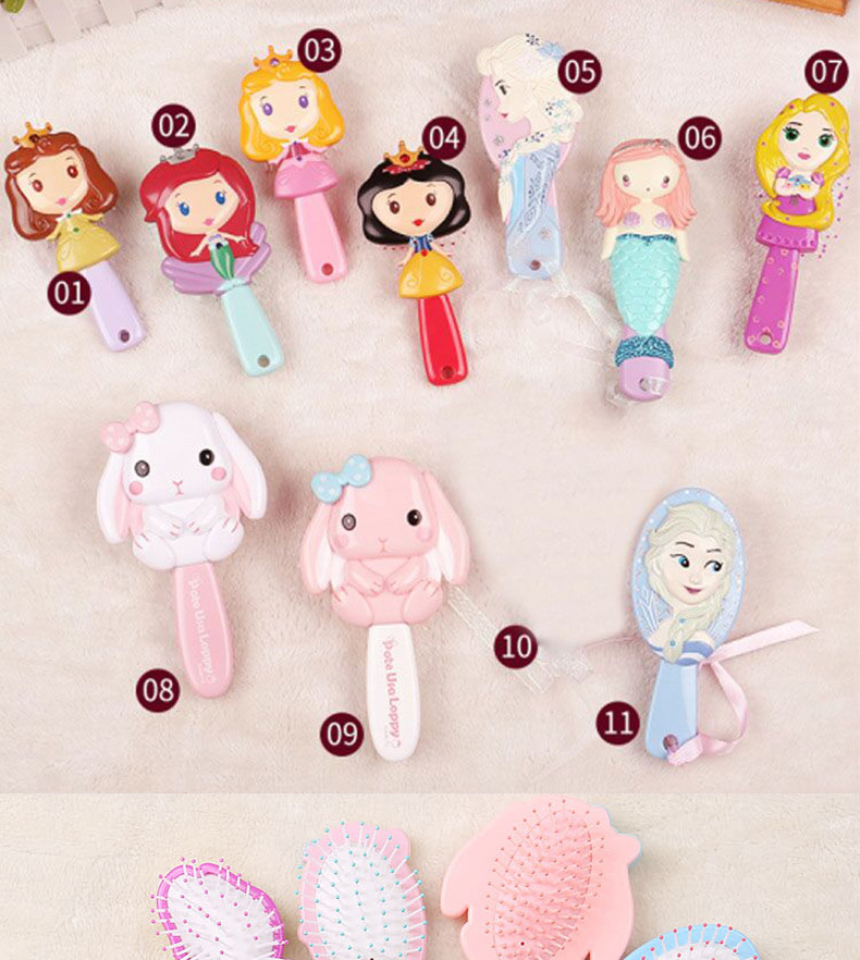 Cartoon Hair Brush Brosse Cheveux Kids Gentle Anti Static Brush Curly Tangle Mermaid Bristles Handle Tangle Comb Styling Hair With Round Brush Hair Brush Styles From Servision 2 9 Dhgate Com