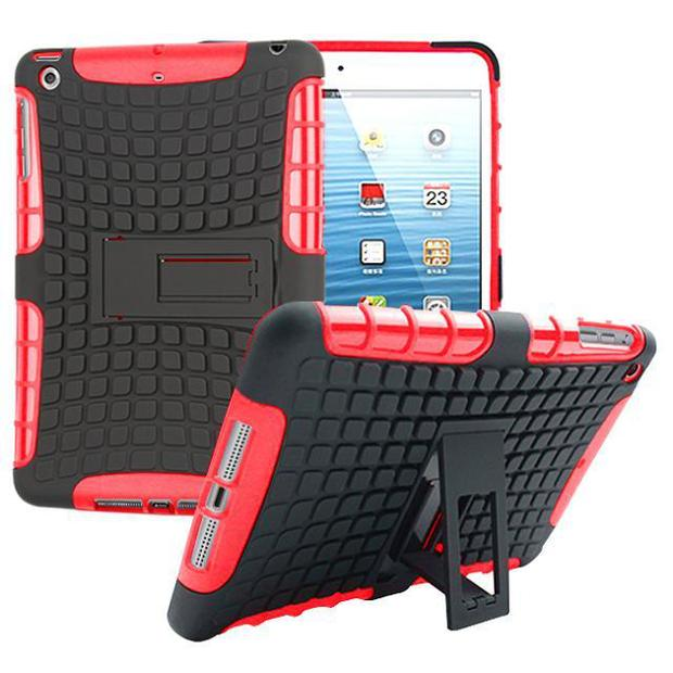 For iPad mini 1 2 3 Case 7.9 inch High Quality Hybrid Kickstand Armor Hard PC+TPU 2 In 1 Cover with Stand Function mini 2/3