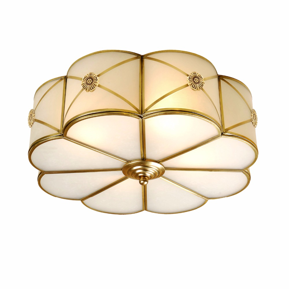 Kitchen vintage Copper ceiling Lamp Toolery fixture Dining Room Bedroom Ceiling lights Restaurant boutiques Commercial Lighting