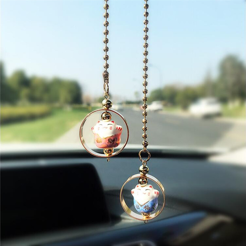 Car Pendant Lucky Cat Automobile