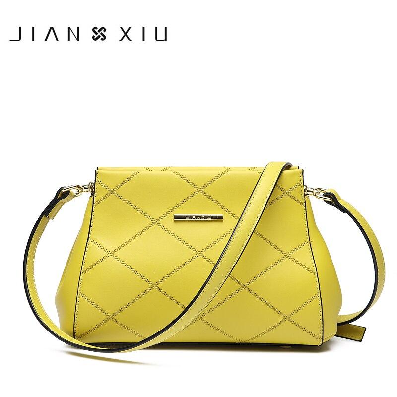 2018 New Split Leather Small Carteras Mujer De Hombro JIANXIU Brand Women Messenger Bags High Quality Shoulder Crossbody Bag женский комбинезон brand new 2015 monos largos de mujer 140409