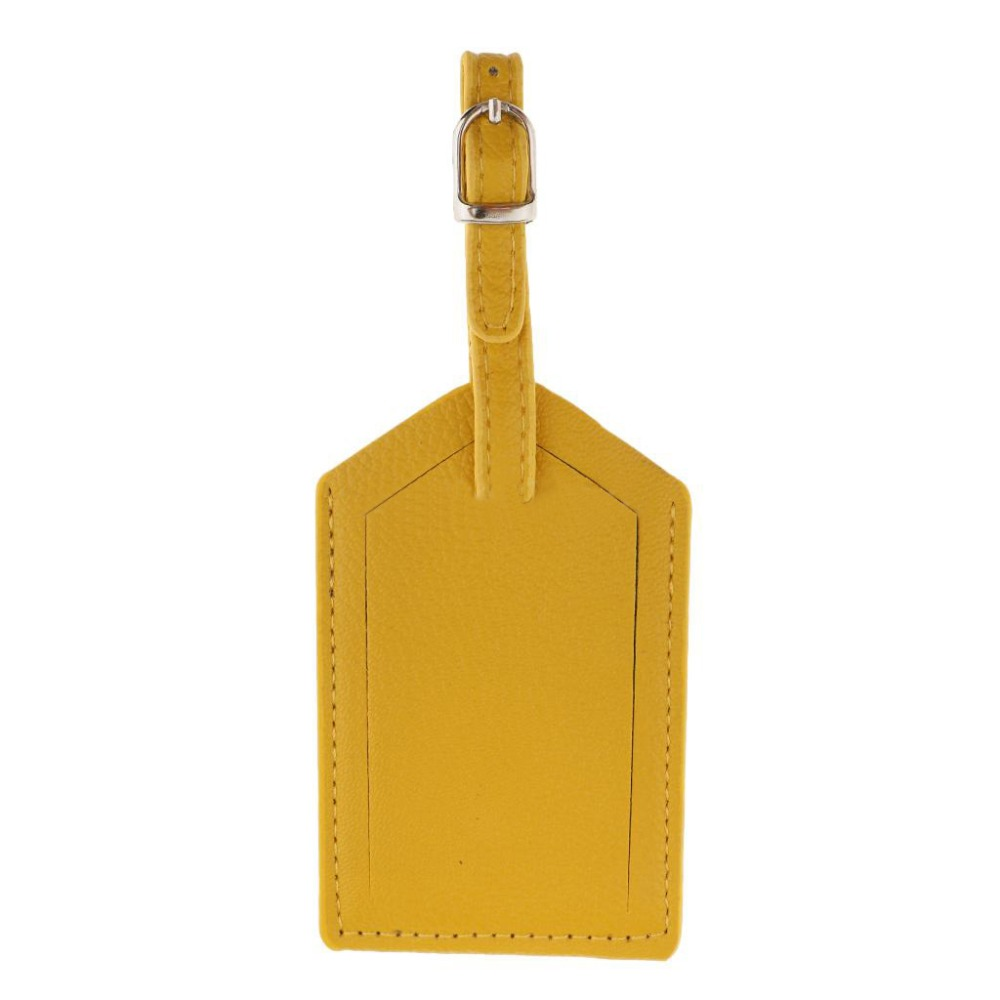 New Leather Luggage Tag Travel Suitcase Name Address ID Baggage Label Address Holder Portable Boarding Tags Travel Accessories