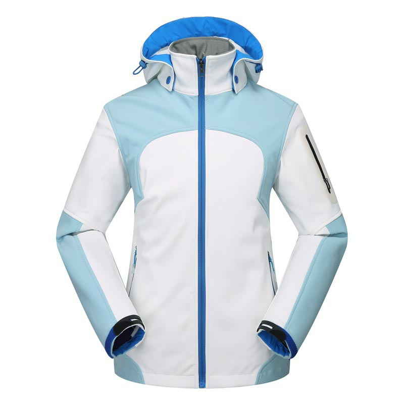 2019 Outdoor Fleece Soft shell Jacket Women's Sports Coat Winter Autumn Outdoor Ski Jacket Waterproof Waterproof Climbing Wear