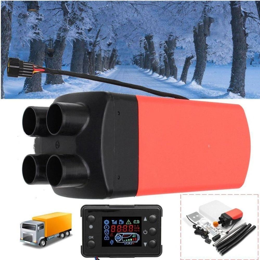 12V 8KW diesel Air Heater Vent, Duct, Thermostat Caravan Motorhome RV + LCD