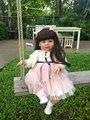 70 см Силиконовые Винил Возрождается Кукла реалистичные Серии Emulational Большой Размер Детские Reborn Куклы Модели Одежды для Девочек Brinquedos