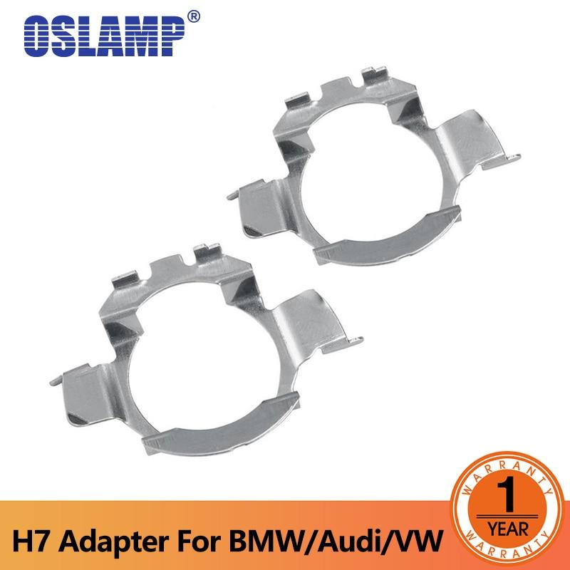 Oslamp H7 LED-kit Strålkastare Glödlampa Bashållare Adaptrar - Bilbelysning - Foto 1