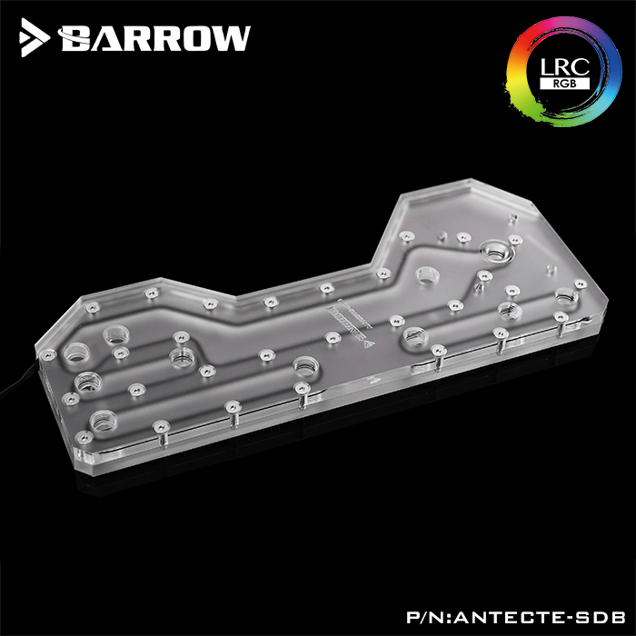 Barrow ANTECTE SDB, Waterway Boards For Antec Torque Case, For Intel CPU Water Block & Single/Double GPU Building-in Fans & Cooling from Computer & Office    3