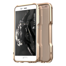 LUPHIE Aluminum Frame Bumper for Huawei P10 P10Plus