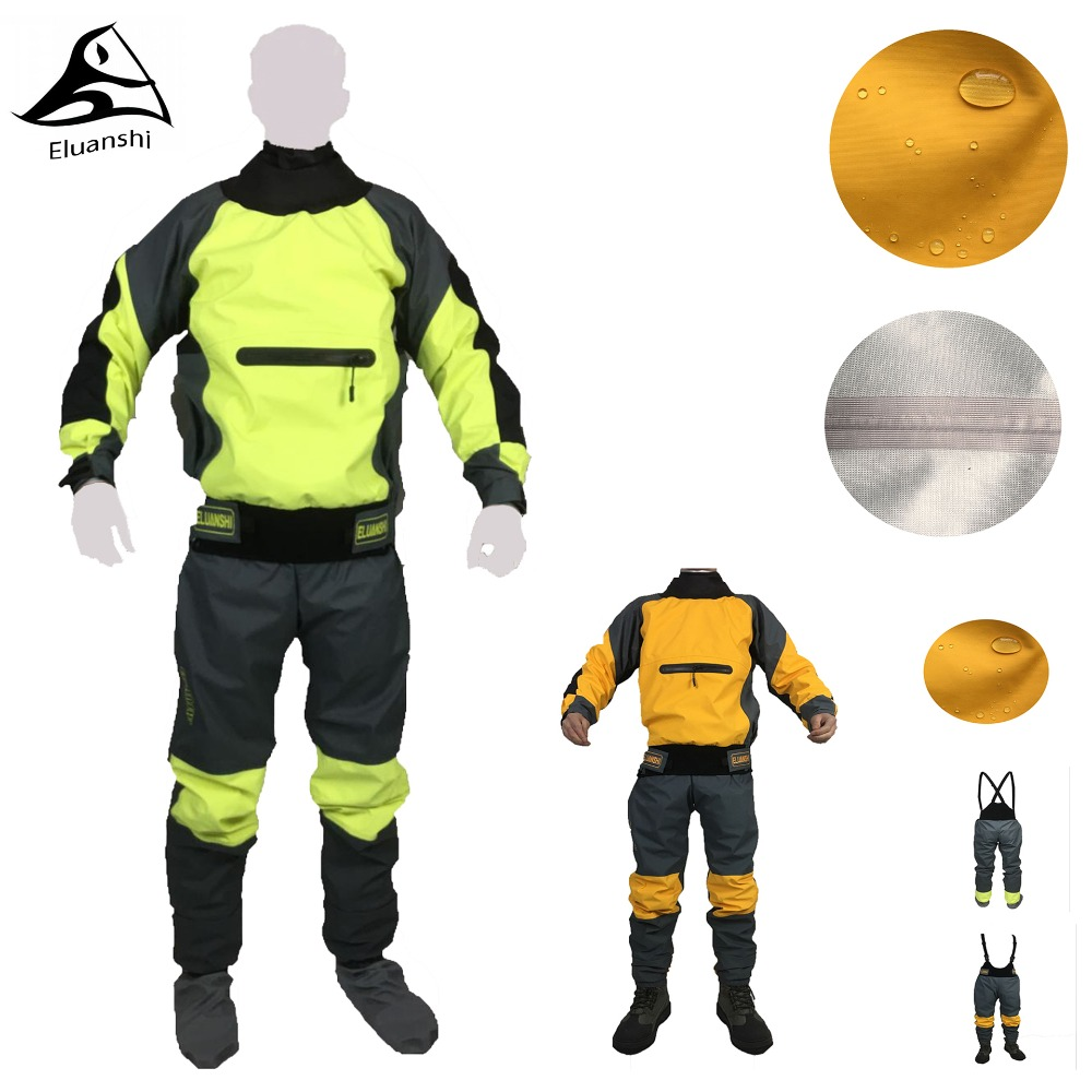 2018 waterproof Clothing for men Life Vest jacket boating rafting outdoor water sports Fishing clothes XXL