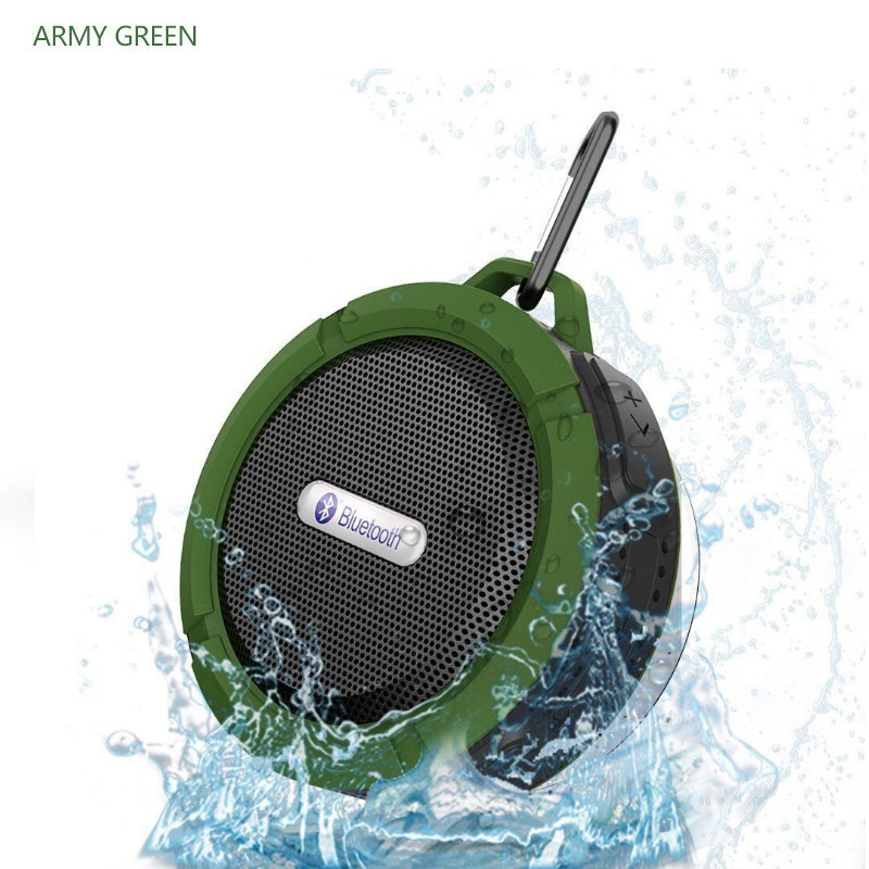 2018 New 5W Hands Free Column Outdoor Stereo Waterproof Wireless Portable Bluetooth Mp3 Speaker player With Bass For Phone Ipad