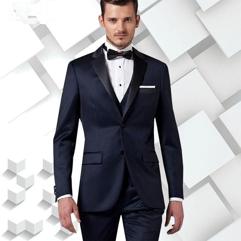 0fdcba885a1e Plyesxale Men Suit 2018 Black Prom Suits For Men Formal Wear Tuxedos Jacket  Slim Fit Wool Suit 4XL Luxury ...