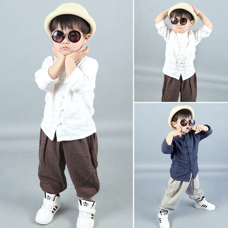 4-10 years old boys clothing set Spring 2017 new fashion full sleeve children clothes good quality kids set A380