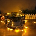 3 Meter Fairy Lamp Colorful LED String Light Battery Operated LED Outdoor Light Garden Wedding Christmas Party Decor