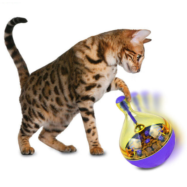 Cat Food Feeders Ball Pet Interactive Toy