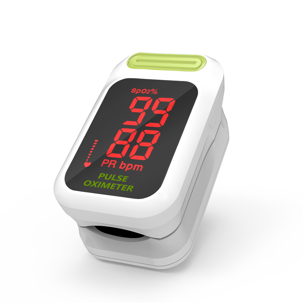 Yongrow LED Pulsoximeter Medizinische Tragbare Finger-pulsoximeter Blut Sauerstoff Sättigung Monitor Mit Gesundheit Pflege Oximeter