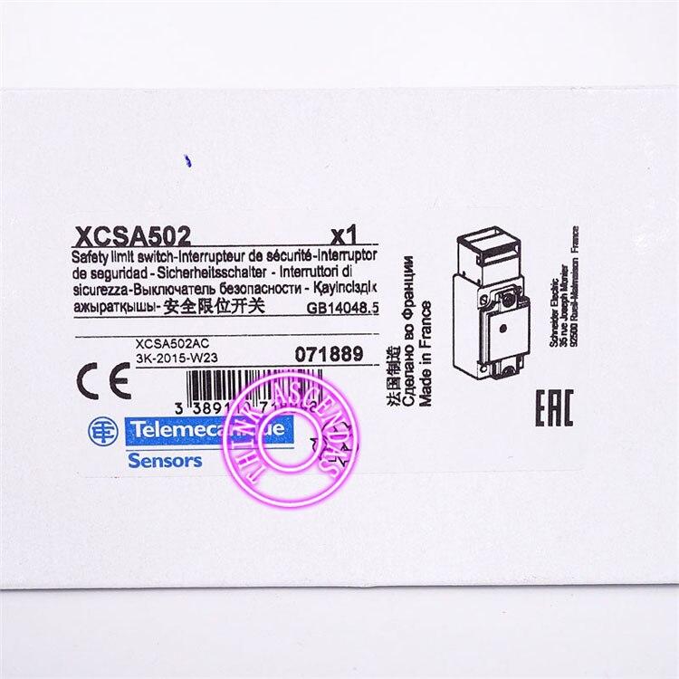 Interrupteur de sécurité interrupteur rouge Original nouveau XCS XCSA501 XCS A501/XCS XCSA502 XCS A502 - 5