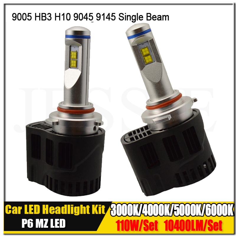 2016 New 3000K 4000K 5000K 6000K Canbus 110W 10400LM 9005 HB3 Car LED Headlight Conversion Kit 12V 24V 30V Head Fog Light Bulbs sncn 2pcs 4000lm high brightness led headlight for skoda rapid 2013 2016 car head light conversion kit auto bulbs