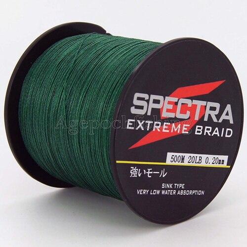 ¡Envío gratis! 4 filamentos 500M 20LB alta calidad marca trenzado - Pescando