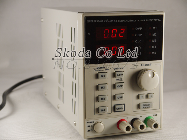 KA3005D high precision Adjustable Digital DC Power Supply 4Ps mA 30V/5A for scientific research service Laboratory kuaiqu high precision adjustable digital dc power supply 60v 5a for for mobile phone repair laboratory equipment maintenance