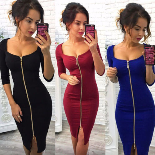 c2314219cd ᗑ New! Perfect quality cleavage dress club and get free shipping ...