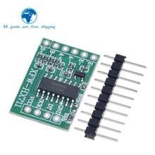 TZT pour Arduino double canal HX711 capteur de pression de pesage 24 bits précision A/D Module bricolage balance électronique