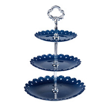 3 Tier White Cake Stand Cupcake Food Platter Display Rack Dessert Tray