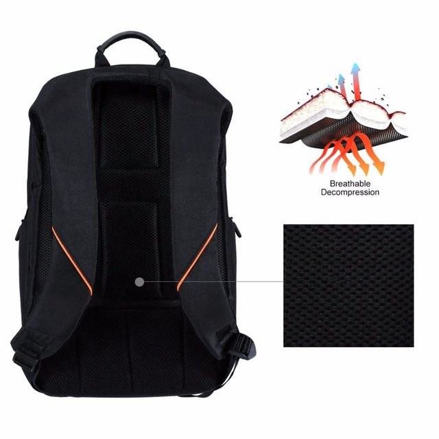 Solar Panel Breathable Casual Backpack 3